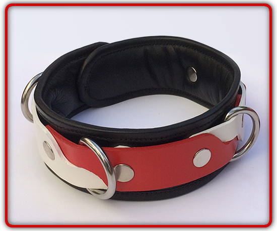 Hand-made Leather Collar your colours!
