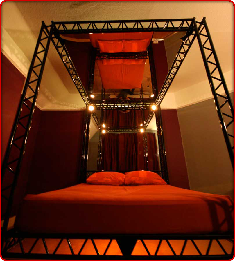 The Ultimate Bondage-Kink Bed For