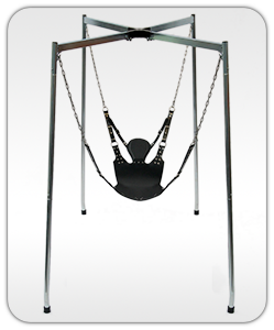 Frame stability increases when there is someone in the sling