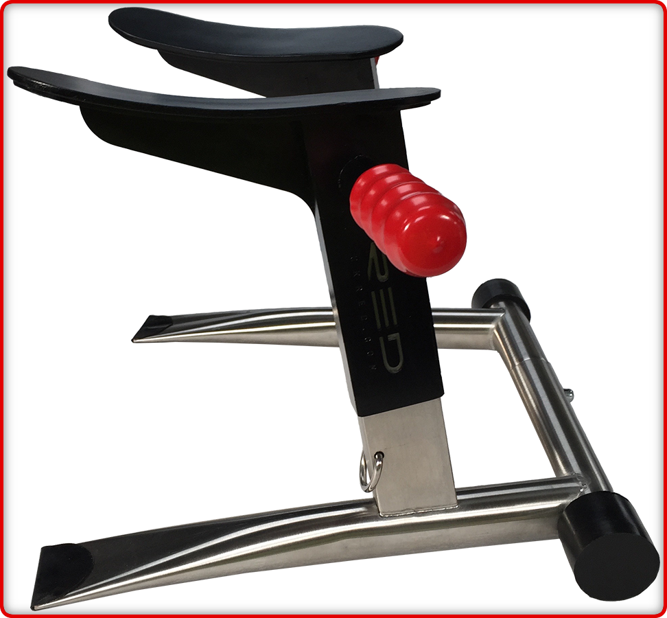The Red Stainless Steel Squat Seat For Lovers Of Rim Seats